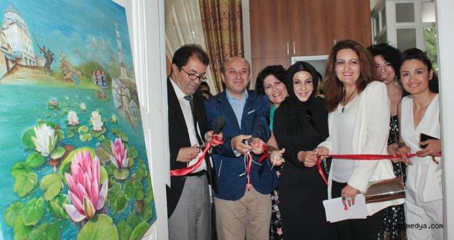 Bolu Belediyesi Ressam Mehmet Yücetürk Sanat Merkezi Sene Sonu Sergisi Açıldı